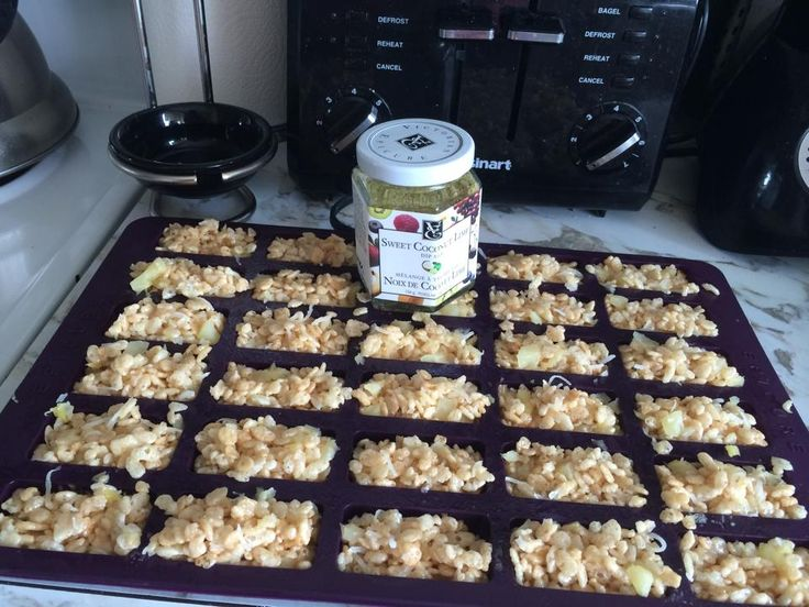 Rice Krispie Squares made in Epicure's Perfect Petite Pan  (pic only)