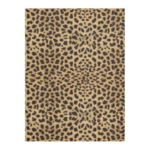 Leopard Spot Pattern Print Fleece Blanket