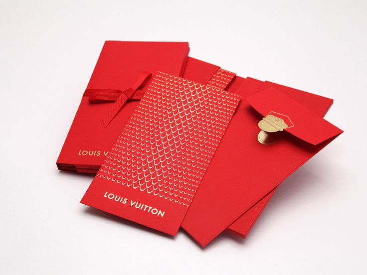 Lucky Money Pocket For Louis Vuitton On Behance Asia