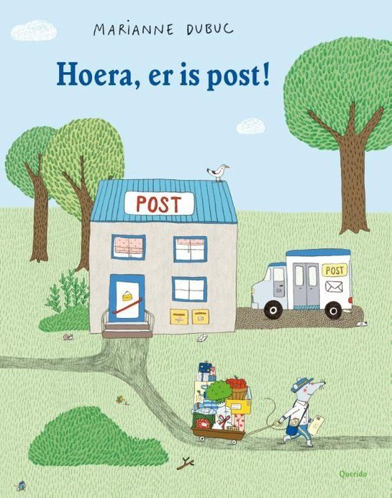 Hoera, er is post!
