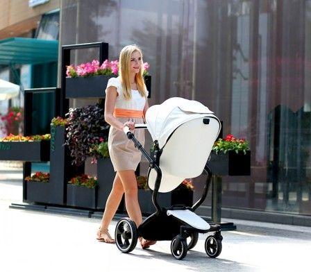 Детская коляска FooFoo #FooFoo #детскаяколяска #материнство #дети #ребенок