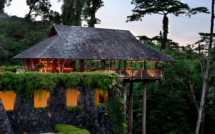 Stylish villas embedded on a jungle-clad hillside above the ocean, a good choice of restaurants, an outstanding spa and its own private beach make this hotel on the Malaysian island of Langkawi an exclusive, but expensive, choice. It's worth every penny.