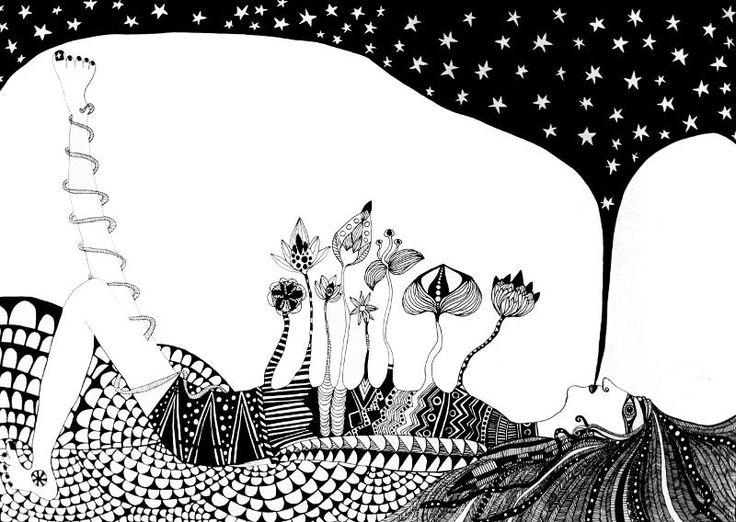 Eating Stars For Dinner by Luiza Poreda