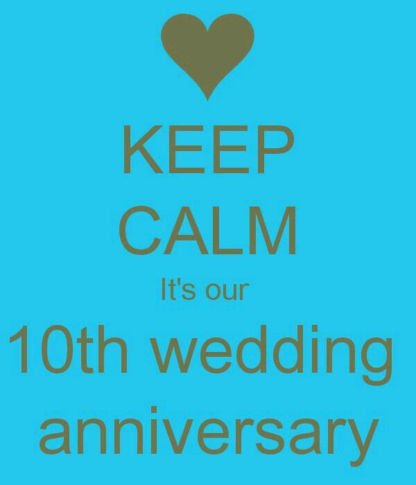 ToDaY İs OuR 10th WeDDinG AnNiVeRsArY :-*