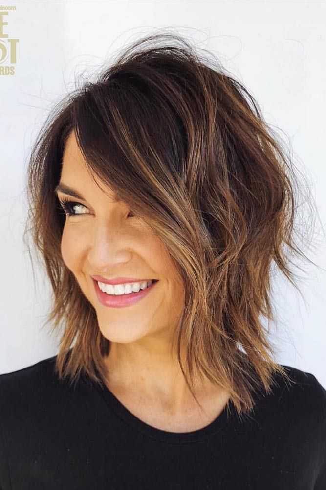Face Framing Layered Bob #layeredbob ★ In case you would like to discover the most popular short layered haircuts, we ca…