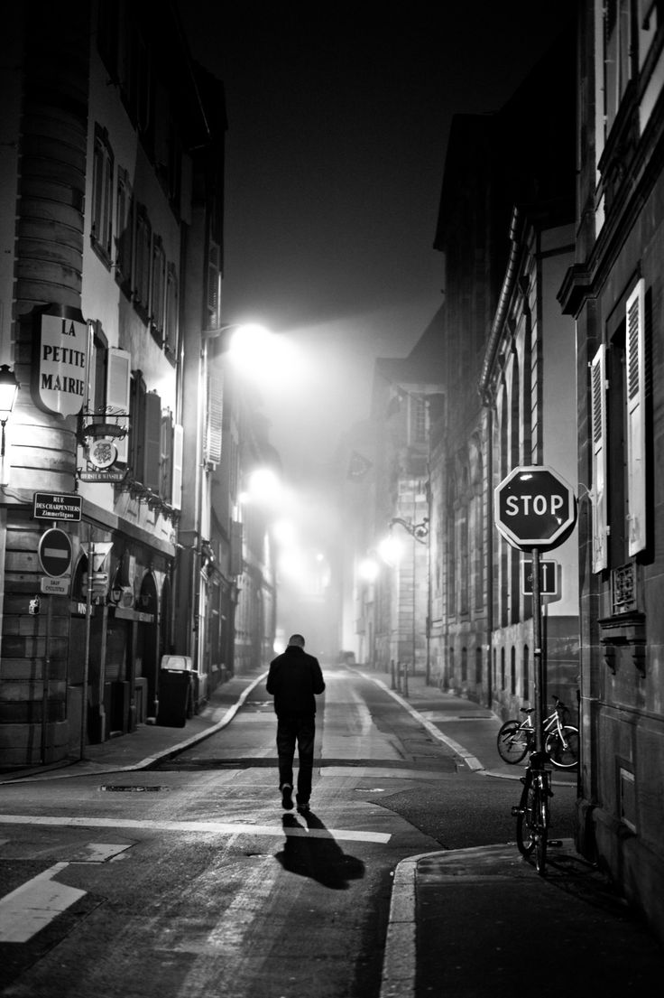 alone on the street