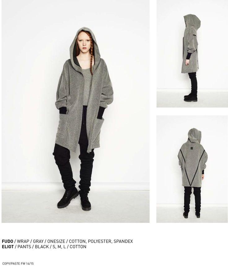 nenukko.com #gray #hood #wrap
