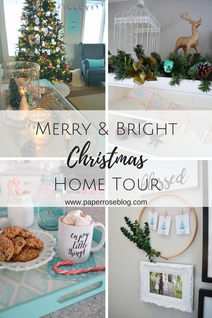 2017 Christmas Home Tour! FREE PRINTABLE handmade Gift Tags to use ...