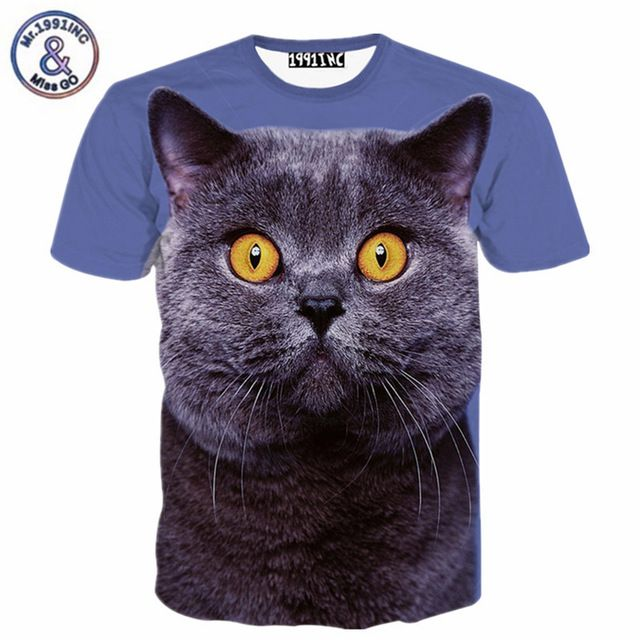 Special offer Newest funny 3d t shirts Fat animal cat print t shirt men/women's summer tops harajuku tshirts fashion poleras de mujer just only $11.26 with free shipping worldwide  #tshirtsformen Plese click on picture to see our special price for you