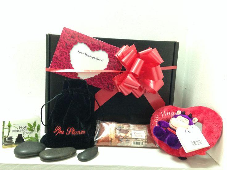 Womens Personlised  Valentines/Birthday-Hot Rocks Gift Box/Hampers
