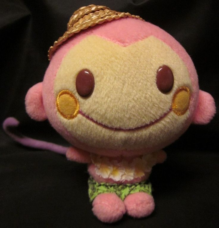 "A #Monchan #ChiChai #Sanrio #Nakajima Plush Monkey 2007 just listed plus more in the storehttp://stores.ebay.com/moongatememorabilia !  #HelloKitty #Kawaii  MONCHAN CHI CHAI Plush Monkey Kawaii Island NAKAJIMA Hello Kitty Sanrio '07 5""  #SANRIO"
