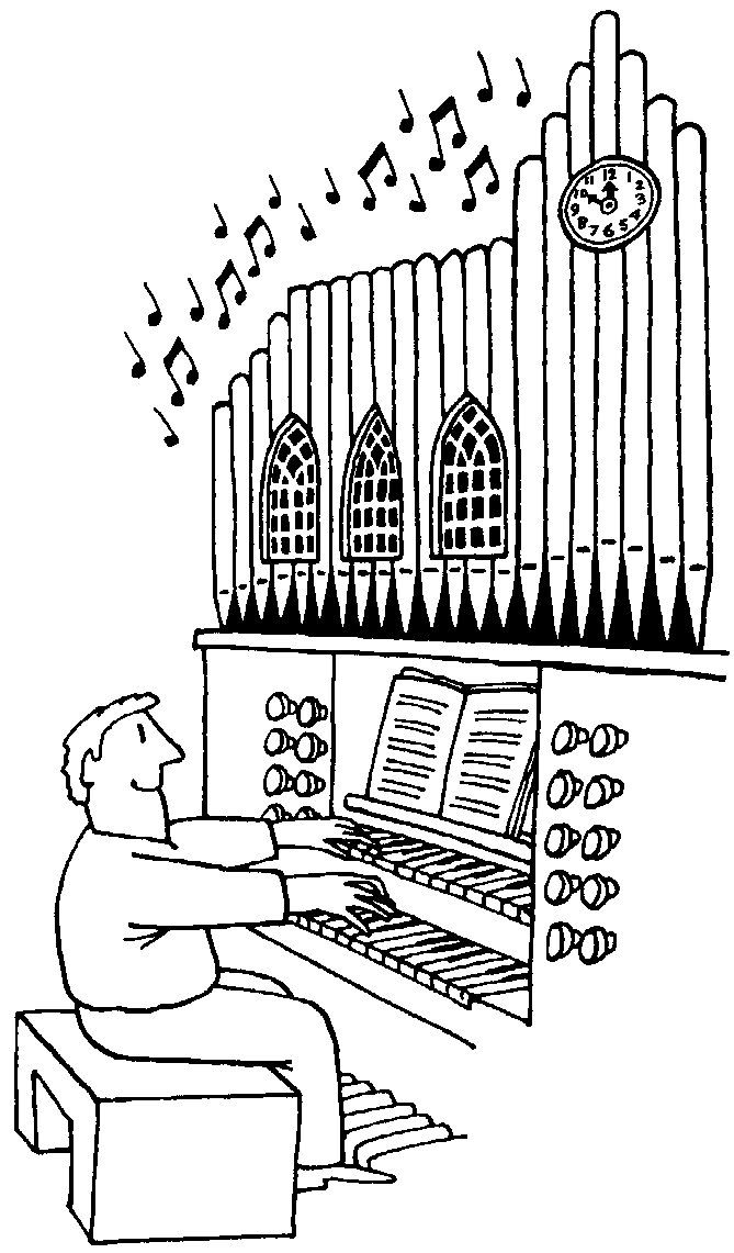 pipe organ colouring pages sketch coloring page
