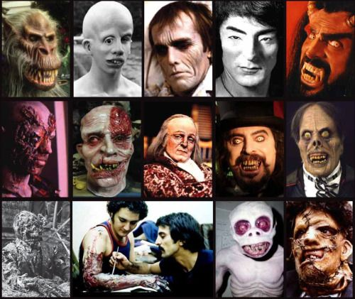 A compilation of some of Tom Savini's greatest make up! From the cover of his book…
