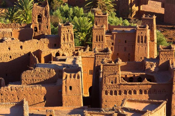 Day trips from #Marrakech | http://www.weather2travel.com/blog/marrakech-day-trips-and-excursions.php | #Morocco #travel | Ait Benhaddou, UNESCO World Heritage site