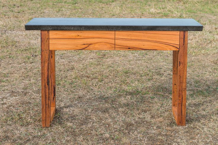 Skenes Creek sideboard - recycled Messmate timber sideboard with concrete bench top.