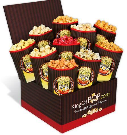 Backyard BBQ Popcorn Gift Basket from GourmetGiftBaskets #sponsored review & feature