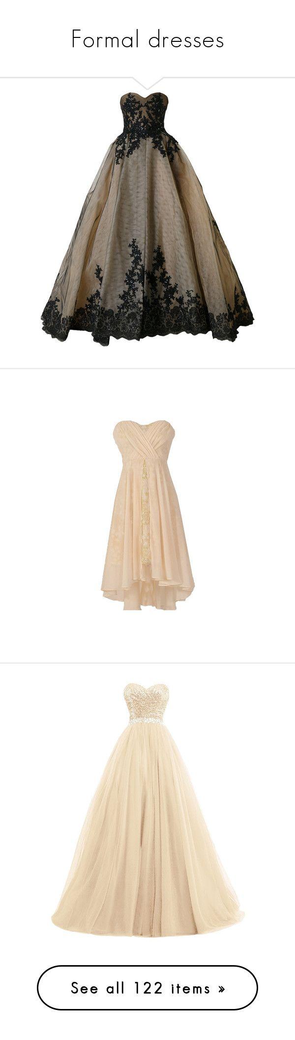 """Formal dresses"" by keeprunning1245 ❤ liked on Polyvore featuring black, dresses, sweetheart neckline prom dress, sweetheart dress, beige prom dresses, bridal dresses, crisscross dresses, sequin embellished dress, tulle dress and sequin prom dresses"