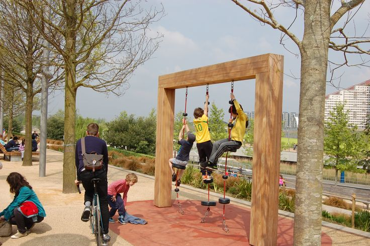 Queen Elizabeth Olympic Park, Stratford, London - Play Feature