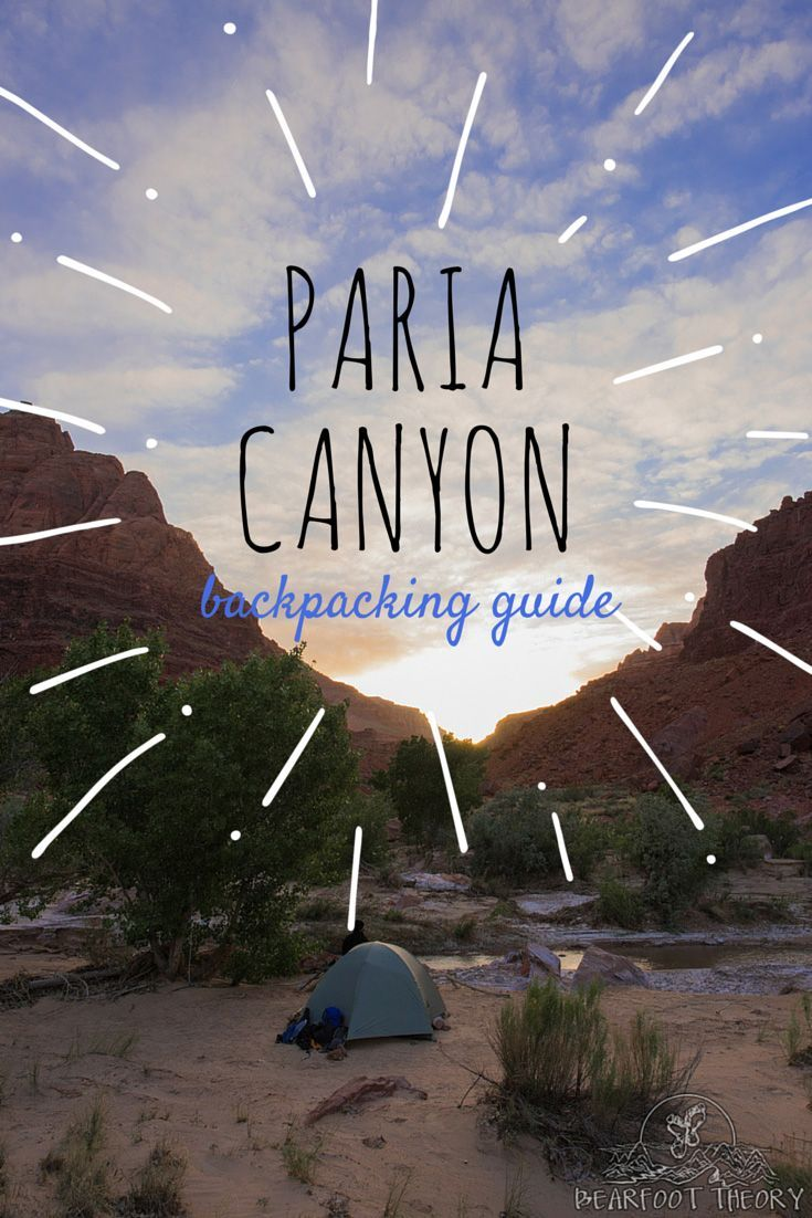 Paria Canyon is a amazing and remote 38 mile wet-canyon hike along the Utah / Arizona border. In this Paria Canyon backpacking guide, learn everything you need to know about the trail, gear, footwear, permits, and camping. #utah #visitutah #camping #backpacking