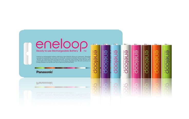eneloop tones tropical | Battery | Beitragsdetails | iF ONLINE EXHIBITION
