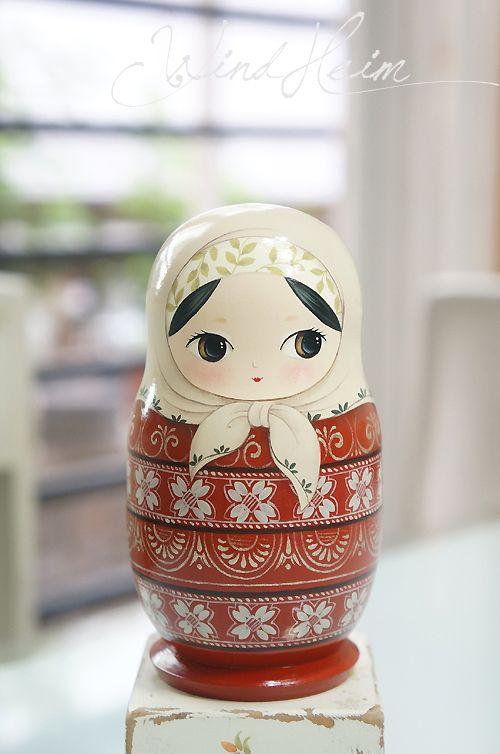 Matryoshka Doll, Russian Nesting Dolls
