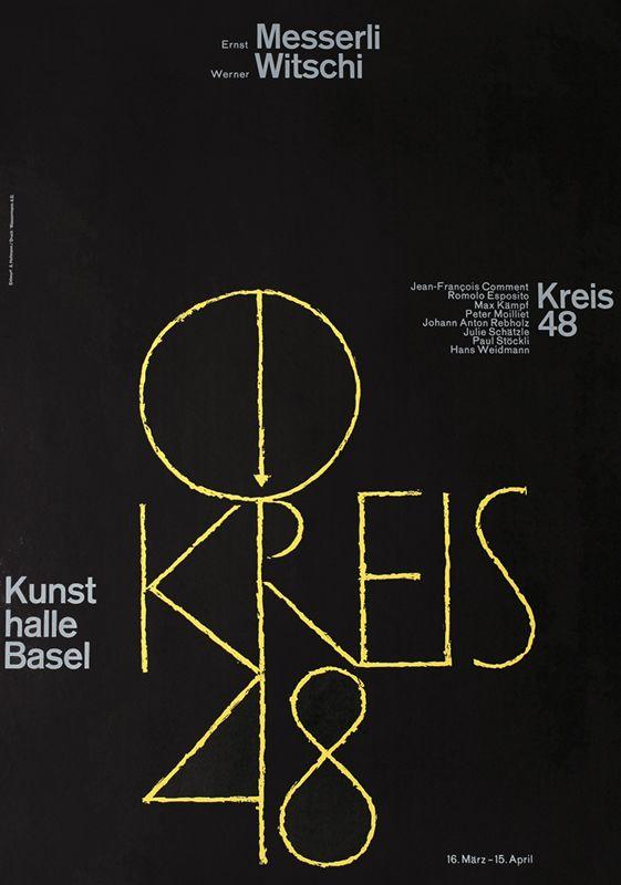 Kreis 48 by Hofmann, Armin   Vintage Posters at International Poster Gallery