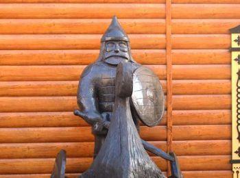 В Кирове установили памятник ушкуйникам – первому русскому спецназу