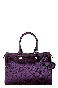 purple hello kitty purse