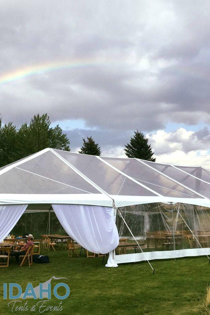 A Dreamy Clear Top Tent Wedding Event Tent Rental Rent A Tent Tent Wedding