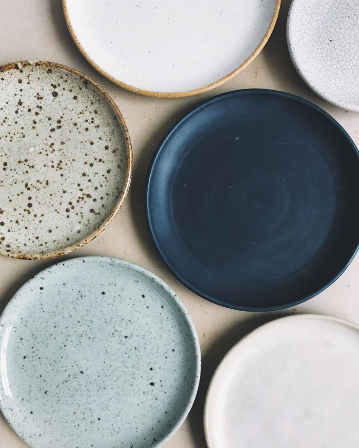 Stoneware plates in various glazes and sizes. I've spent much of the year testing and refining a new collection of work which I can't wait…