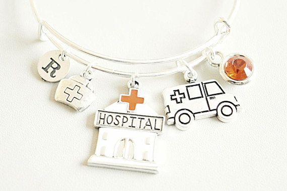 Nurse Graduation Gift Birthday Bracelet Bangle Jewelry For NurseNursing StudentHospital