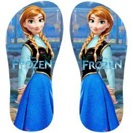 Estampa para chinelo Frozen 000779