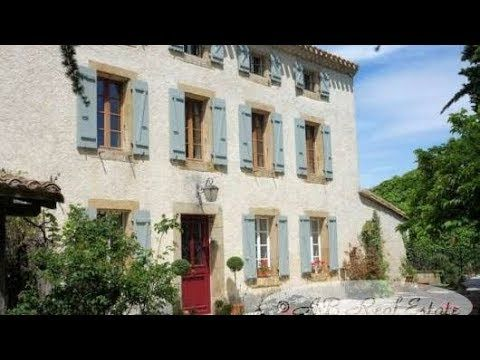 AB Real Estate France: #Carcassonne *** Reduced Price *** Lovely early 19th century Maison de Maître/farmhouse