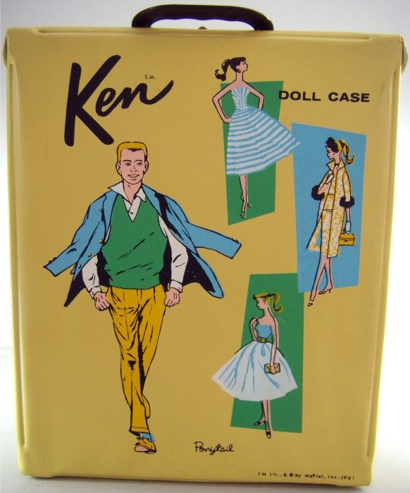 VINTAGE TOY ARCHIVE- Never had a Ken case but had one for Barbie