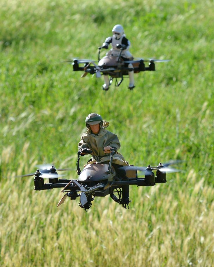 Future Drone Travel | Star Wars Speeders (Pictures)