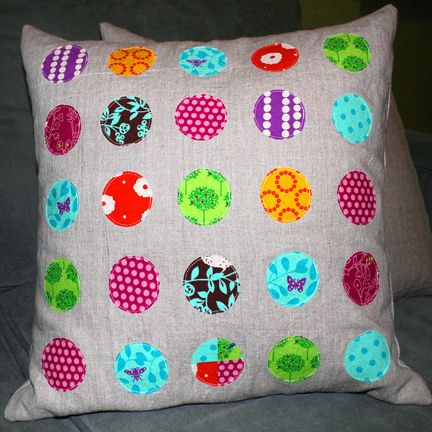 cute cushion by craftapple
