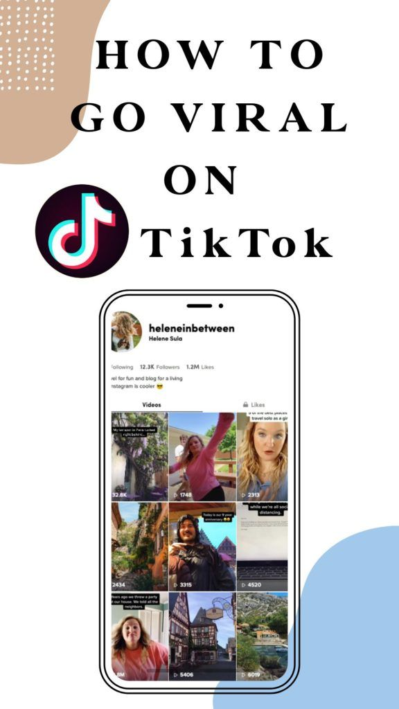 How To Grow On Tiktok And How I Went Viral 4 Times Social Media Strategies Blog Resources Social Media Trends