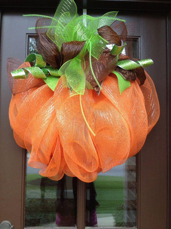 Hey, I found this really awesome Etsy listing at https://www.etsy.com/listing/193596066/fall-wreath-pumpkin-wreath-fall-wreaths