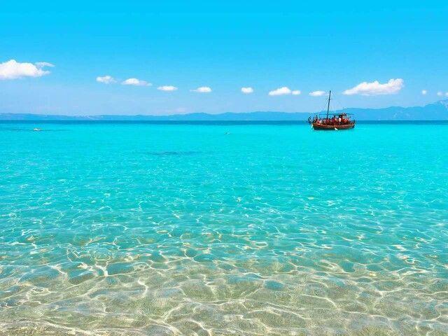 The beautiful water of Skiathos island!
