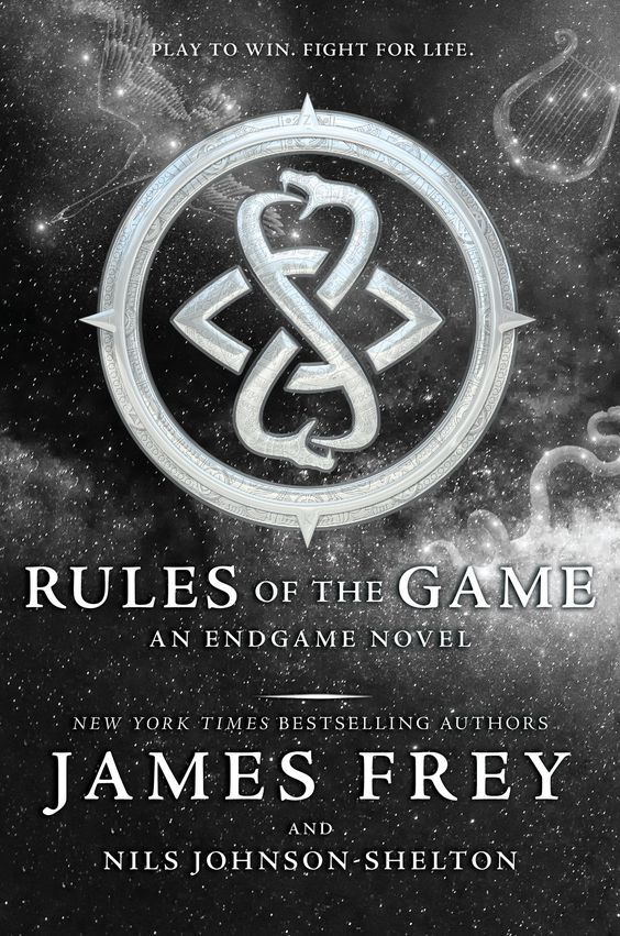 Rules of the Game – James Frey & Nils Johnson-Shelton https://www.goodreads.com/book/show/28512572-rules-of-the-game