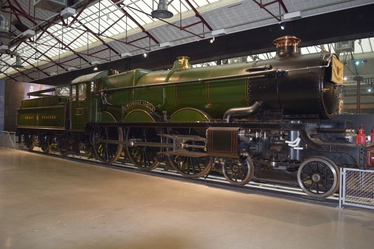 Caerphilly Castle - Collet, Swindon Works, now at the GWR Museum Swindon