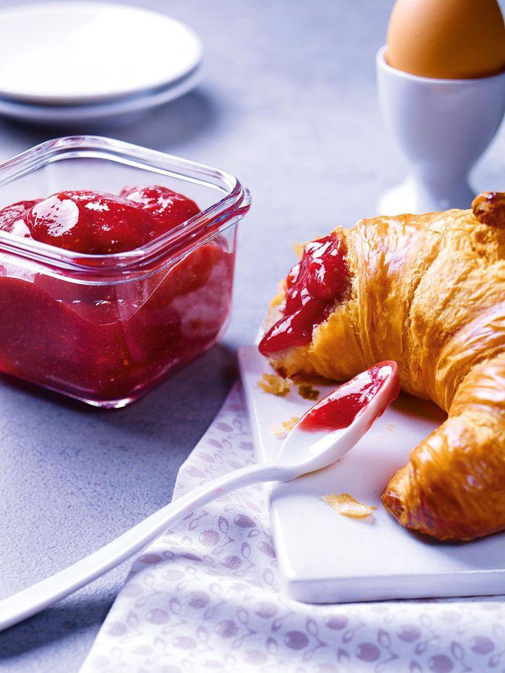 Erdbeer-Himbeer-Konfitüre - Eine fruchtige Erdbeer-Himbeer-Konfitüre für das Sonntagsfrühstück