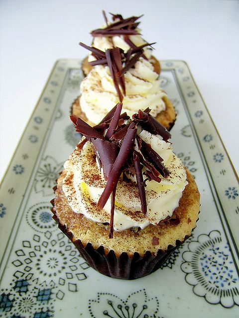 Recipe for Tiramisu Cupcakes