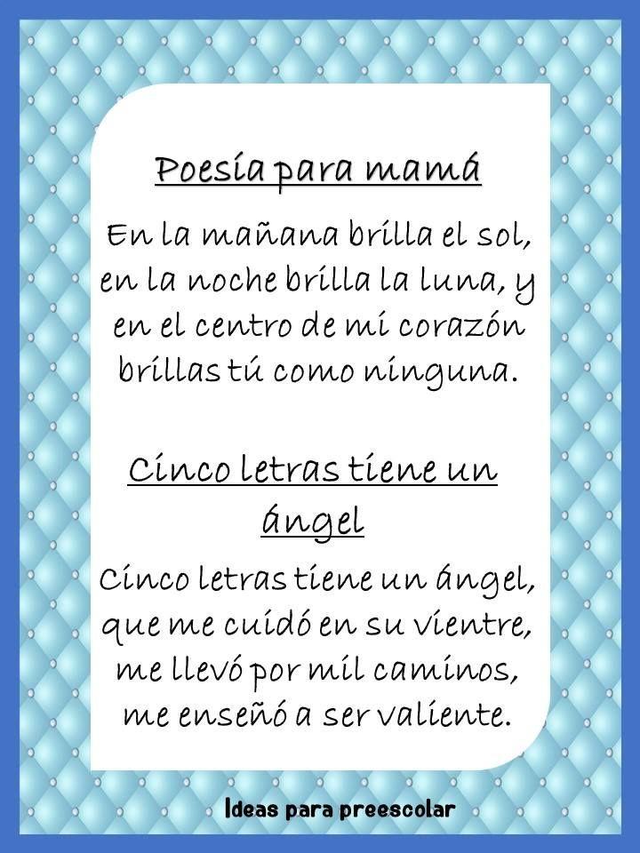 Poemas Canciones Para El Dia De La Madre Para Niños Fantasticas Y Bonitas Poesias Para Dedicar A Mama En El Dia De Las