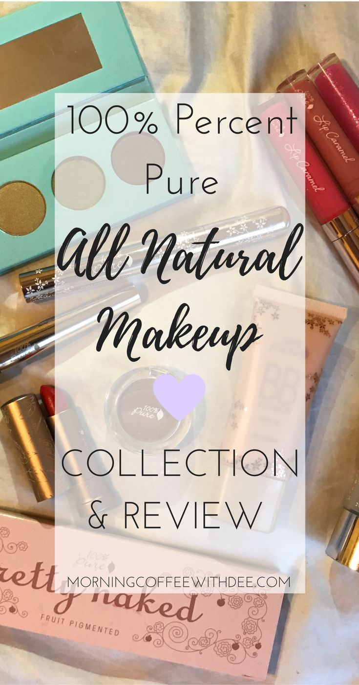 Organic Makeup by 100 Percent Pure Review Natural