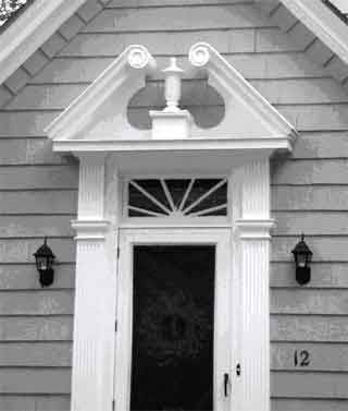 38 best over door pediments images on pinterest all - Decorative exterior door pediments ...