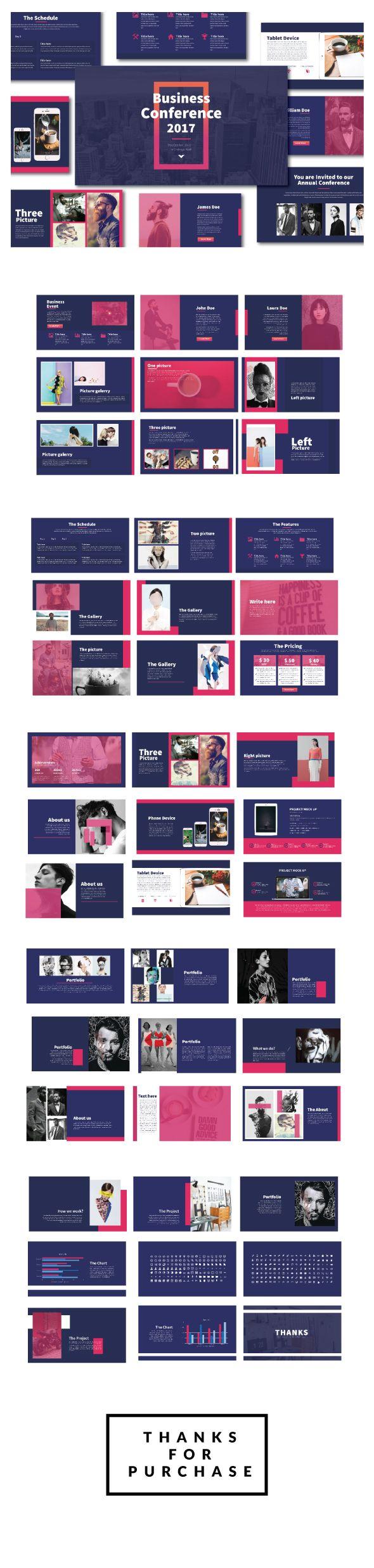 VIBRANT - Modern Powerpoint Template - Creative PowerPoint Templates