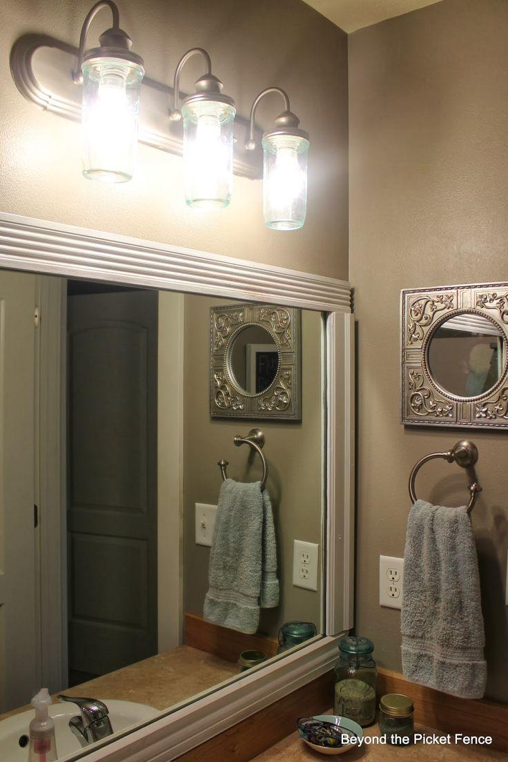 home decor country style bathroom vanity luxury bathroom accessories mirror cabinet for bathroom awesome. I Love My Homemade Country Style Bathroom Vanity Bathroom Lighting