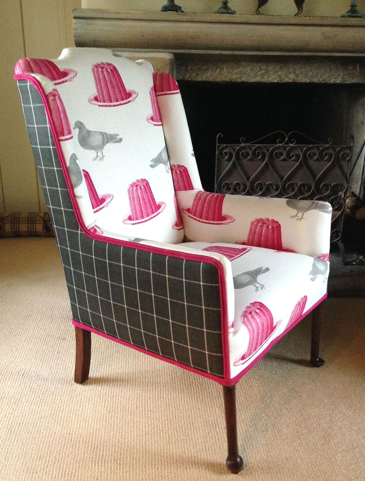Stunning Victorian Armchair By Sally White Designs Sold At Remadeinbritain Com Chairs