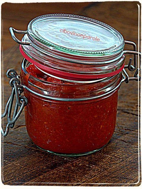 Salsa agrodolce di peperoncini #ricetta di @annamolino
